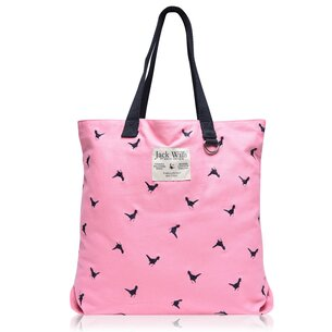 Jack Wills Eastleigh Embroidered Shopper Bag