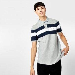 Jack Wills Cardwington Cut and Sew Polo