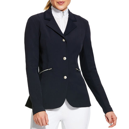 Ariat Ladies Galatea Show Coat - Navy