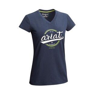 Ariat Authentic Logo Short Sleeve T Shirt Ladies