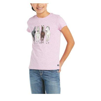 Ariat 360 View Short Sleeve T Shirt Junior Girls