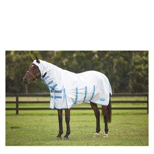 Weatherbeeta Sweet Itch Shield Combo Neck - White/Blue