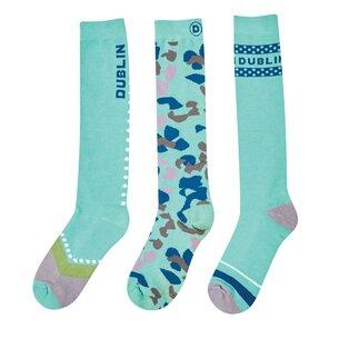 Dublin 3 Pack of Equestrian Socks