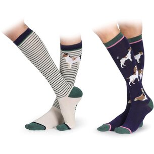 Shires Bamboo Equestrian Socks Juniors