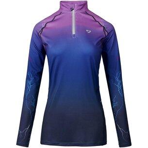 Aubrion HydePark XC Shirt Ladies - Purple Lightning