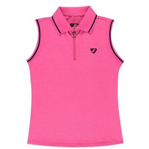 Aubrion Harrow Junior Polo - Pink