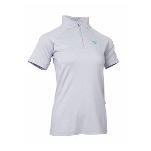 Aubrion Highgate Short Sleeve Zip Top Ladies