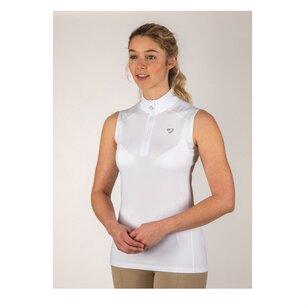 Aubrion Westbourne Ladies Sleeveless Base Layer - White