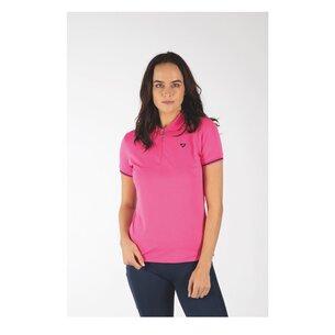 Aubrion Parsons Tech Polo Junior - Pink