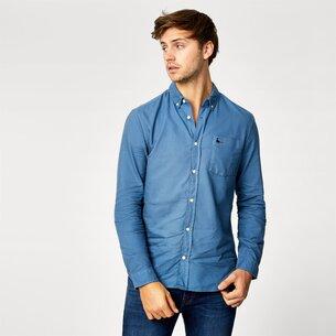Jack Wills Langforde Garment Dye Oxford Shirt