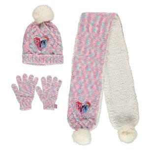 My Little Pony Hat Scarf And Gloves Set
