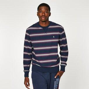 Jack Wills Longworth Stripe Crew Neck Sweatshirt