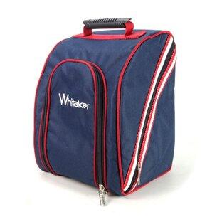John Whitaker Kettlewell Helmet Bag - Navy/Red