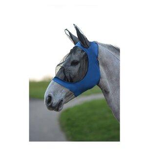 Weatherbeeta Stretch Bug Eye Saver With Ears - Royal Blue/ Black