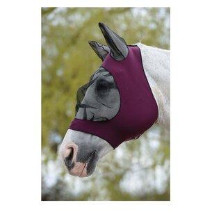 Weatherbeeta Stretch Bug Eye Saver With Ears - Purple/Black