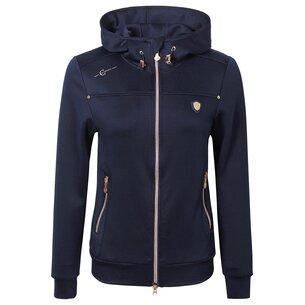 Covalliero Ladies Hoodie Jacket - Navy