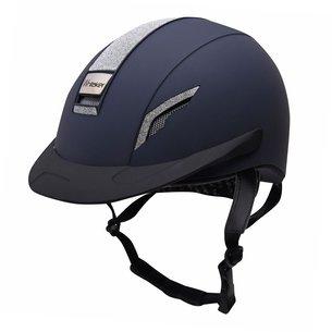 John Whitaker VX2 Sparkle Hat - Navy