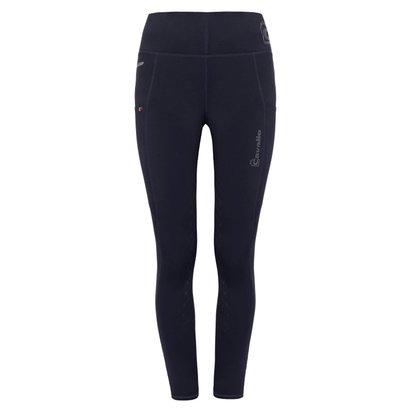Cavallo Ladies Lea Grip Riding Leggings - Dark Blue