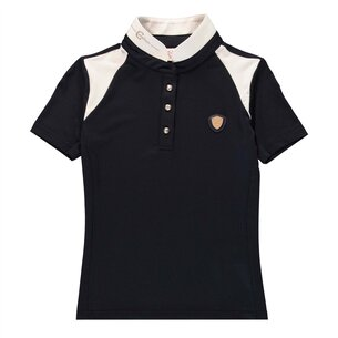 Covalliero Junior Competition Shirt - Navy