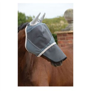 Weatherbeeta Deluxe Fly Mask With Nose