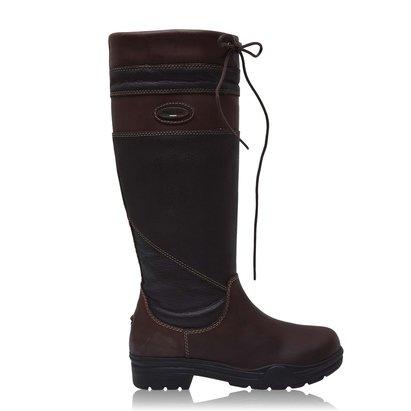 Brogini Warwick Pull On Country Boot - Brown