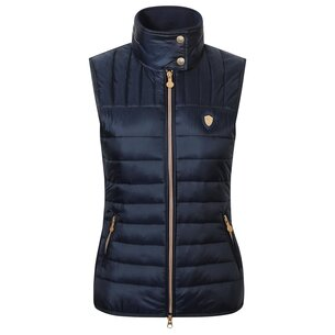Covalliero Ladies Quilted Waistcoat - Navy