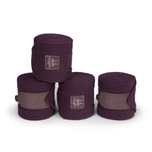 Eskadron Fleece Bandages - Deep Berry