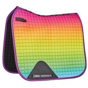 Weatherbeeta Prime Ombre Dressage Saddle Pad - Rainbow Lust