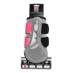 Equisafety Diamond Reflective Brushing Boots
