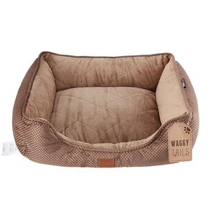 Waggy Tails Cord Box Pet Bed