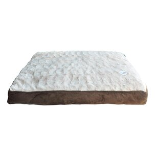 Waggy Tails Deluxe Sherpa Pet Bed