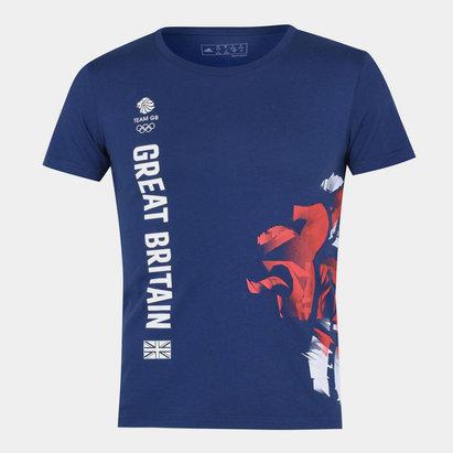 adidas Team GB Ladies Graphic T Shirt