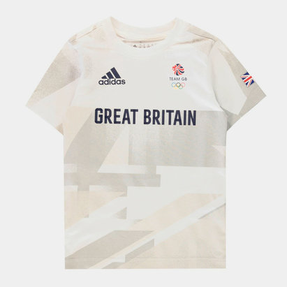 adidas Team GB T Shirt Juniors