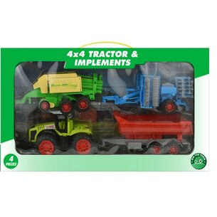 Kandytoys Tractor Set