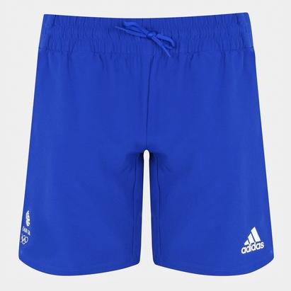 adidas Team GB Woven Shorts Ladies