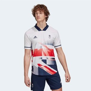 adidas Team GB Football Jersey Mens
