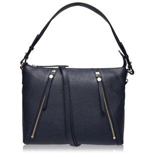 Radley Road Medium Leather Zip Top Shoulder Bag