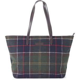 Barbour Quilted Tote