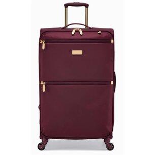 Radley Essentials Navy 4 Wheel Medium Suitcase