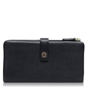 Radley wood large tab matinee purse