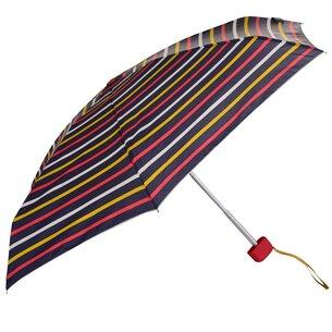 Joules Hope Striped Tiny Umbrella