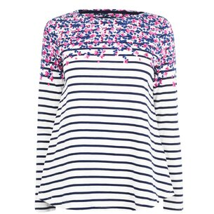 Joules Print Long Sleeve T Shirt