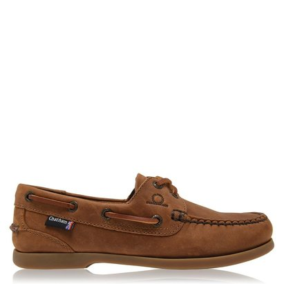 Chatham Deck Lady II G2 - Leather Boat Shoes