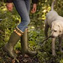 Burford Ladies Wellington Boots - Olive Green