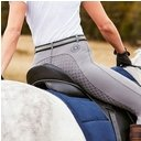 Dublin Performance Cool-It Gel Ladies Riding Tights - Charcoal