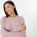 Tinsbury Merino Wool Cable Knitted Jumper