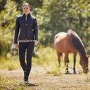 EOS Ladies Knee Patch Riding Tights - Black