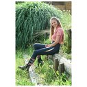 Ladies Riding Tights Sporty - Navy