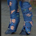 1200D Wide Tab Long Travel Boots - Giraffe Print