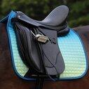 Prime Ombre Dressage Saddle Pad - Ocean Reef